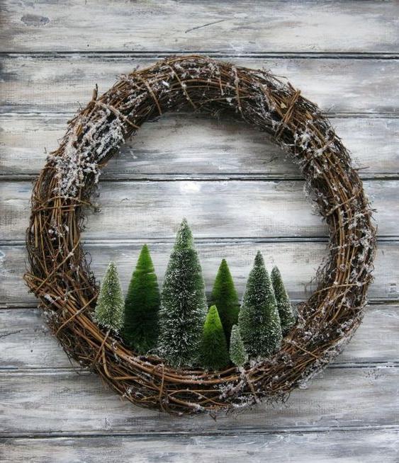 46 Christmas Rustic Decor Ideas -  - home-decor - christmas rustic decor ideas 20 -