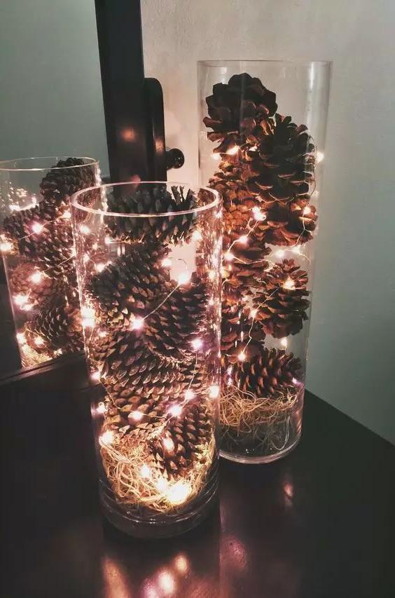 46 Christmas Rustic Decor Ideas -  - home-decor - christmas rustic decor ideas 23 -