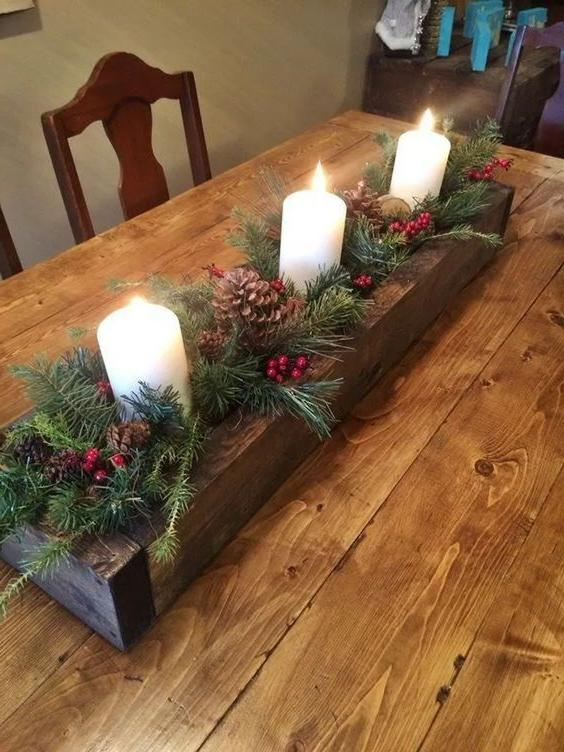 46 Christmas Rustic Decor Ideas -  - home-decor - christmas rustic decor ideas 24 -