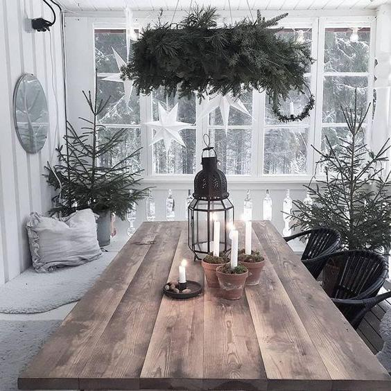 46 Christmas Rustic Decor Ideas -  - home-decor - christmas rustic decor ideas 35 -