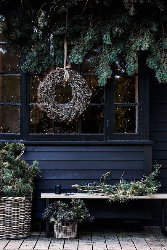 46 Christmas Rustic Decor Ideas -  - home-decor - christmas rustic decor ideas 36 -