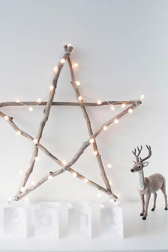 46 Christmas Rustic Decor Ideas -  - home-decor - christmas rustic decor ideas 37 -