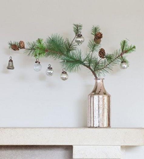 46 Christmas Rustic Decor Ideas -  - home-decor - christmas rustic decor ideas 6 -