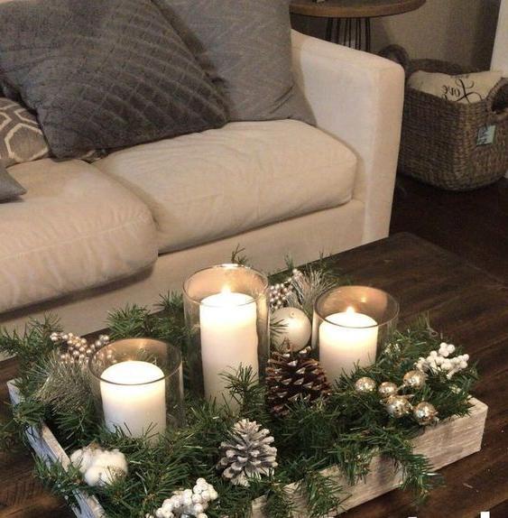 46 Christmas Rustic Decor Ideas -  - home-decor - christmas rustic decor ideas 7 -