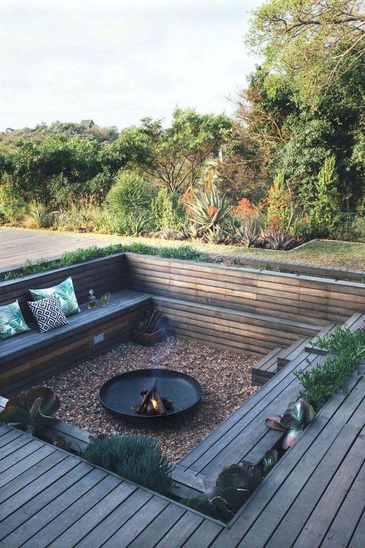 47 Best Backyard Fire Pit Landscaping Ideas