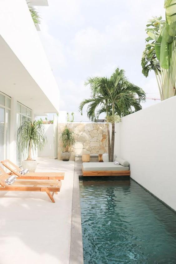 40 Impressive Backyard Pool Design Ideas