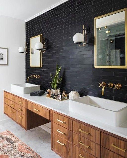 60+ Delightful Bathroom Wall Tile Ideas