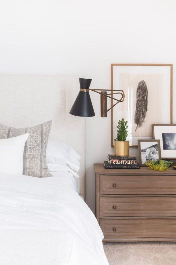 59 Tempting Bedroom Nightstand Lamps Ideas