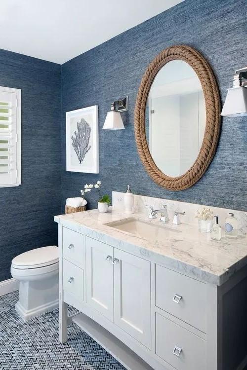 38 Dazzling Coastal Bathroom Remodel Ideas