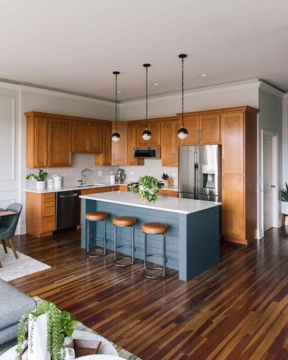 54 Undeniably Glamorous Mid-Century Kitchen Designs