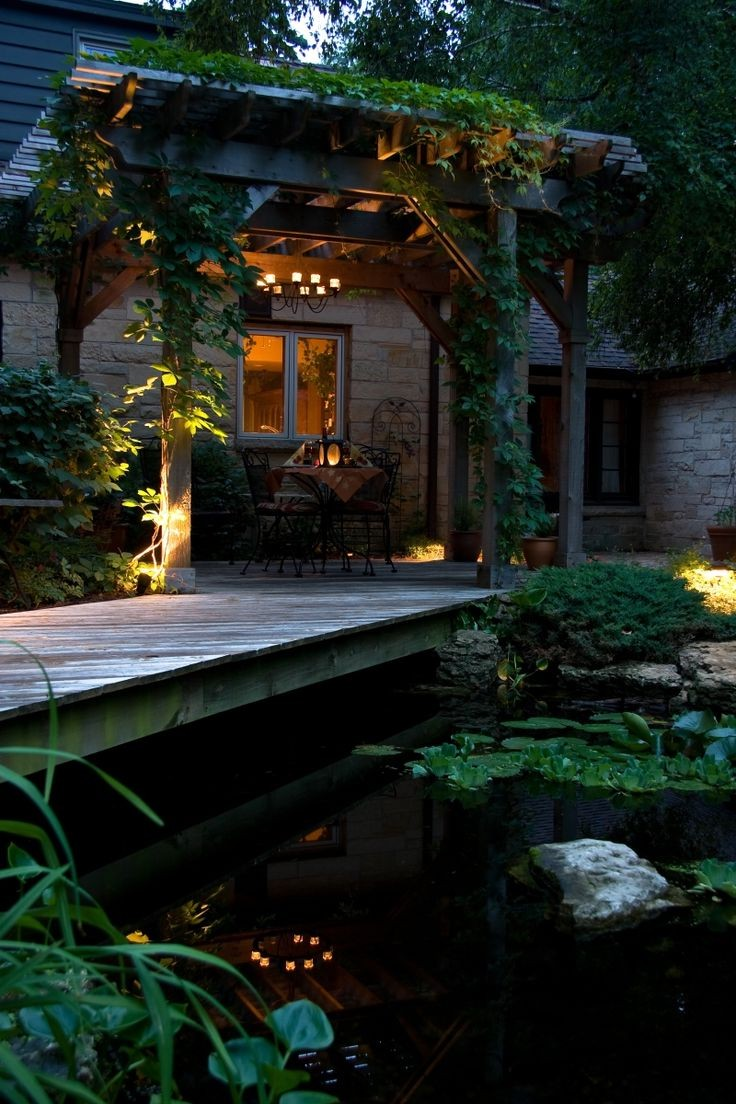 46 Dazzling Backyard Pond Ideas