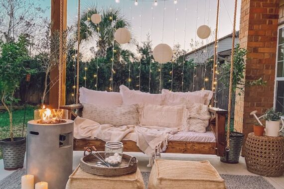 27 Brilliant Backyard Swing Idea