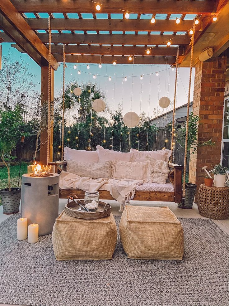 27 Brilliant Backyard Swing Idea