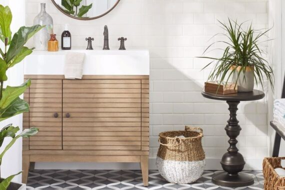 55 Delightful Bathroom Sink Cabinets Inspiration