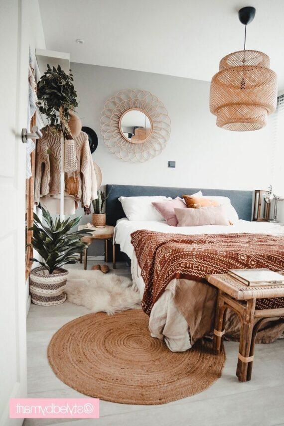 54 Fresh Bohemian Bedroom Ideas