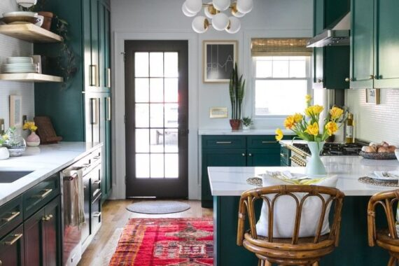 49 Charming Bohemian Kitchen Design Ideas