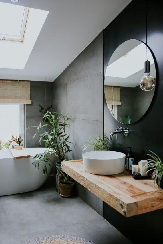 51 Charming Contemporary Bathroom Ideas