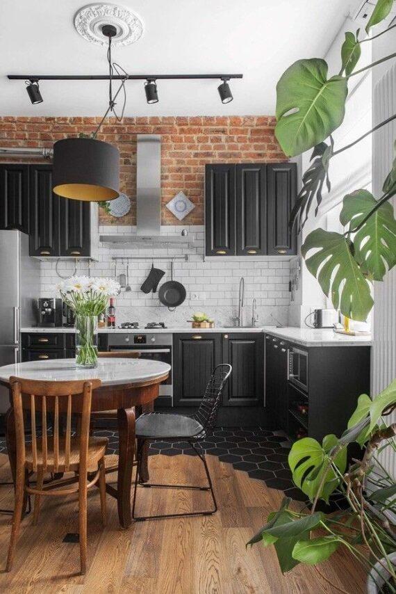 45 Thrilling Industrial Kitchen Inspiration