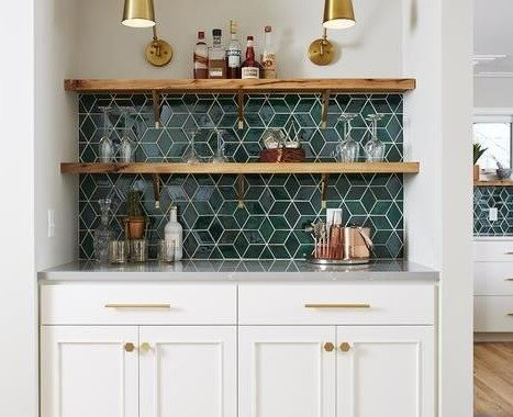 65 Incredible Kitchen Wall Tile Ideas