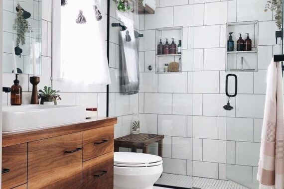 48 Simple Scandinavian Bathroom Interior Ideas