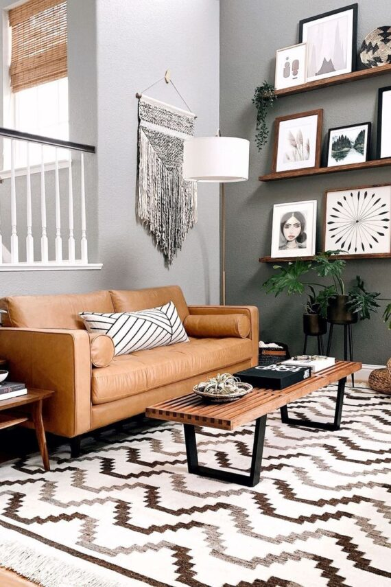 54 Impressive Photo Ideas How To Create Scandinavian Living Room