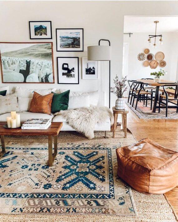 58 Gorgeous Living Room Wall Decor Ideas
